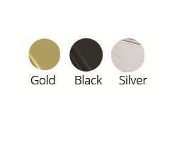 gold-black-silver