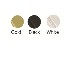 gold-black-white